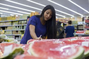 Preço dos produtos da cesta básica na fronteira caíram 0,99% em outubro
