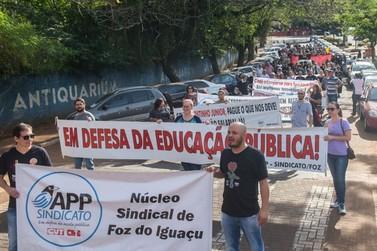 Professores da rede estadual anunciam greve a partir do dia 2 de dezembro
