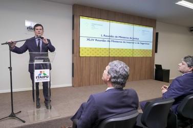 Sérgio Moro apresenta projeto de integração de forças policiais da fronteira
