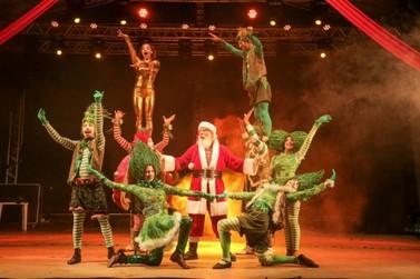 Natal de Foz é um encanto diário; programação segue até o dia 23 na Praça da Paz