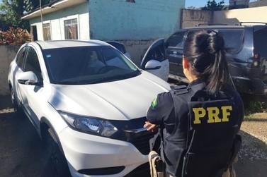 Polícia prende mulher com carro roubado em Almirante Tamandaré