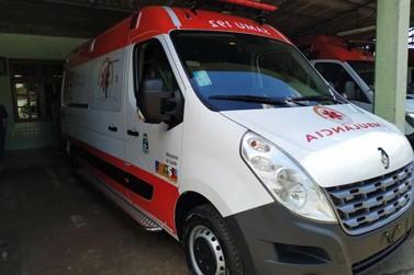 Urgência e emergência recebe ambulância e novos equipamentos para as UPAs