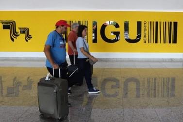 Aeroporto de Foz do Iguaçu recebeu 2,2 milhões de passageiros em 2019