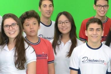 Alunos do High School do Colégio Educação Dinâmica conquistam o mundo