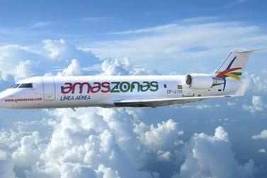 Amaszonas lança tarifas promocionais de Foz do Iguaçu para a Bolívia