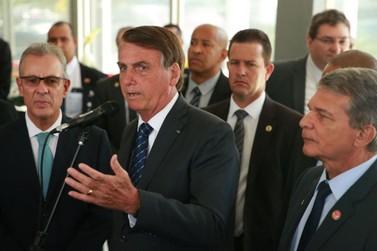 Bolsonaro recebe ministro e diretor de Itaipu para discutir sobre energia
