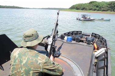 Capitania Fluvial de Foz do Iguaçu intensifica patrulhamento no Rio Paraná