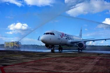JetSMART faz voo inaugural em Foz do Iguaçu e lança promoção para o Chile
