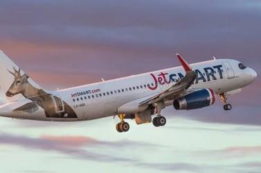 JetSmart inicia voo de baixo custo entre Foz do Iguaçu e Santiago, no Chile