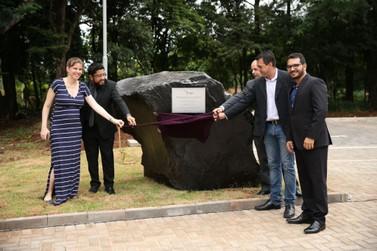Pedra fundamental marca início das obras do Campus Integração da UNILA