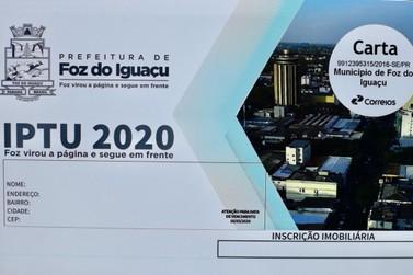 Pagamento do IPTU em parcela única terá desconto de 10% em Foz do Iguaçu