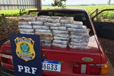 PRF apreende mais de 30 kg de crack na BR-277; motorista foi preso