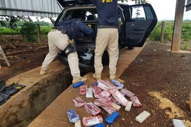 PRF prende traficante gaúcho acompanhado da esposa grávida e do filho de 4 anos