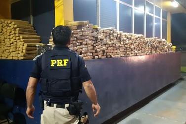 PRF registra aumento de 145% na apreensão de drogas na região de Foz do Iguaçu