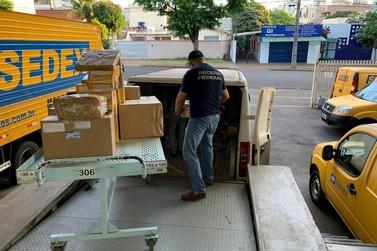 Receita Federal retém 82 volumes de remessas postais irregulares nos Correios