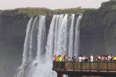 Parque Nacional do Iguaçu recebeu 36 mil visitantes no feriadão de carnaval