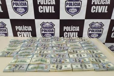 Polícia prende duas mulheres com mais de U$ 500 mil na Avenida das Cataratas