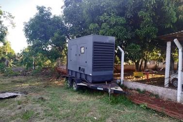 Polícia prende duas pessoas em Foz do Iguaçu com geradores de energia furtados