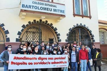 Professores em tratamento de saúde são obrigados a fazer perícia em Curitiba