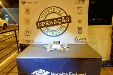 Receita Federal apreende R$ 26 mil durante abordagem de veículo paraguaio