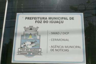 Salas da Prefeitura de Foz do Iguaçu são arrombadas no fim de semana