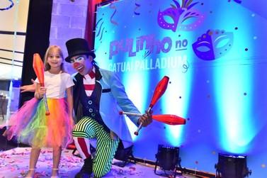 Shopping de Foz do Iguaçu oferece atividades gratuitas de carnaval para crianças