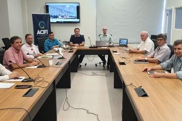 ACIFI e Prefeitura debatem retorno gradual e monitorado do comércio