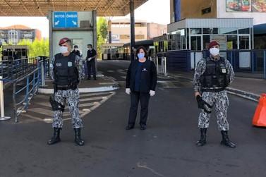 Comércio exterior e vigilância aduaneira não param em Foz do Iguaçu