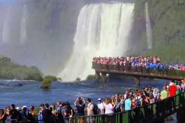 Mais de 150 mil pessoas visitaram o Parque Nacional do Iguaçu em fevereiro
