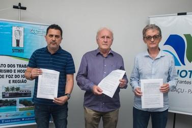 Sindhotéis e Sindicato dos Trabalhadores assinam acordo para preservar empregos