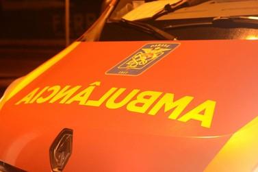 Carro capota e deixa uma pessoa morta e outra ferida em estado grave na BR-277