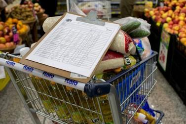 Coronavírus faz preço da cesta básica subir 1,9% em Foz do Iguaçu