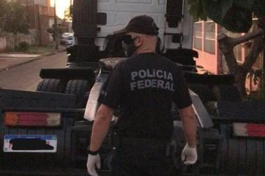 Polícia Federal faz operação contra o tráfico interestadual de drogas