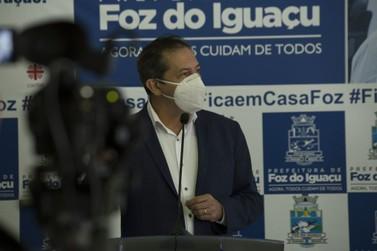 Foz vai adotar integralmente o decreto estadual que prevê quarentena restritiva