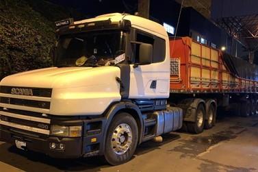 Mais de 60 kg de cocaína são apreendidos em caminhão na Ponte da Amizade