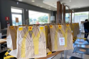 McDonald's doa diversos lanches a profissionais da Saúde em Foz do Iguaçu