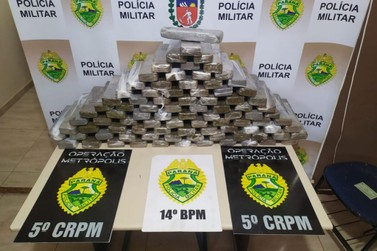 Operação policial faz 281 prisões e apreende quase 4 toneladas de drogas