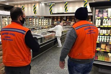 Supermercados de Foz do Iguaçu recebem orientação para prevenção ao coronavírus