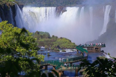 Cataratas do Iguaçu reabre para visitação pública com cuidados redobrados