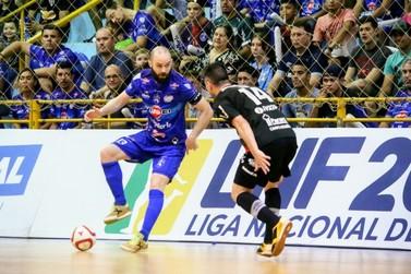 Foz Cataratas Futsal volta à quadra pela Liga Nacional após cinco meses parado