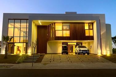 Maior casa em XLAM do Brasil está pronta em condomínio de luxo de Foz do Iguaçu