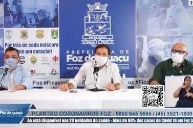 Medidas de prevenção a Covid-19 são flexibilizadas em Foz do Iguaçu