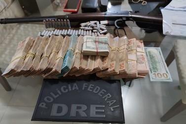 Polícia Federal prende morador da Vila A por posse ilegal de arma de fogo