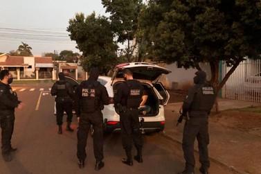 Polícia Federal realiza no Paraná operação para desarticular facção criminosa