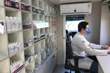 Região de Três Lagoas é a nova parada da Unidade Móvel de Saúde de Foz