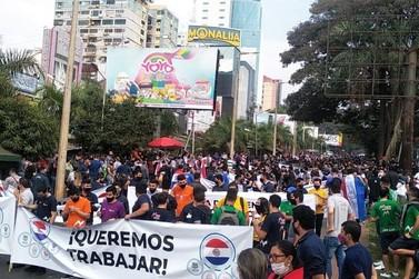 Autoridades alertam que Ciudad del Este está próximo de um surto social