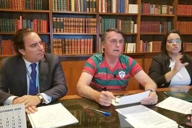 Bolsonaro destaca em live a boa gestão Silva e Luna à frente de Itaipu