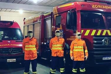 Bombeiros de Foz do Iguaçu são enviados para combater incêndio no Pantanal