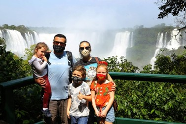 Cataratas do Iguaçu recebem mais de cinco mil visitantes no final de semana