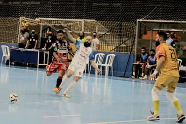 Foz Cataratas Futsal empata fora de casa com o Cascavel pela Liga Nacional